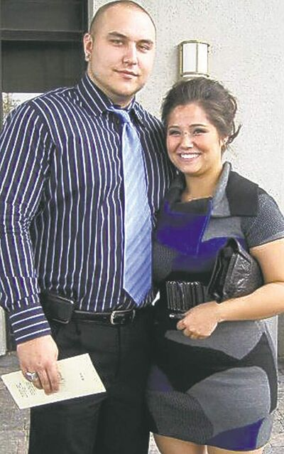 Drake Moslenko and Kaila Tran. Police say the two split up before her killing.