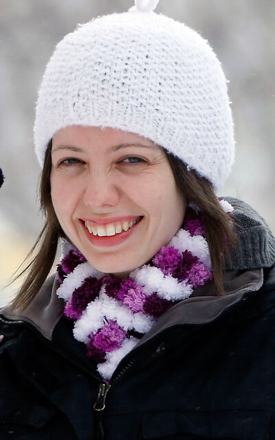 Julie Perreault is the only Manitoban in the running to receive a one-way ticket for a trip to Mars.
