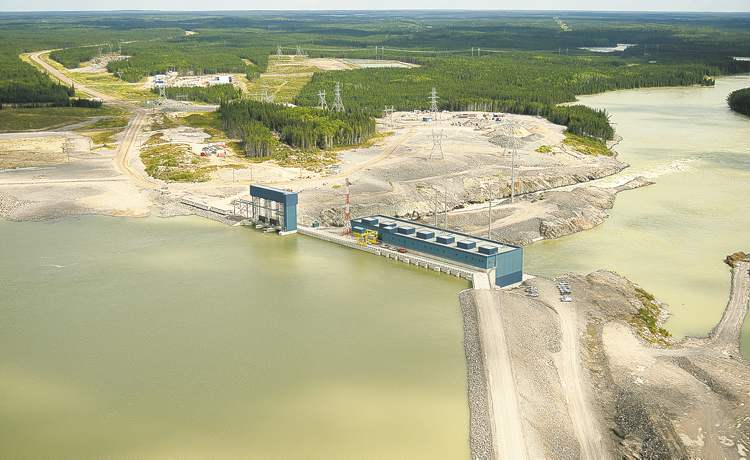 Manitoba Hydro handout