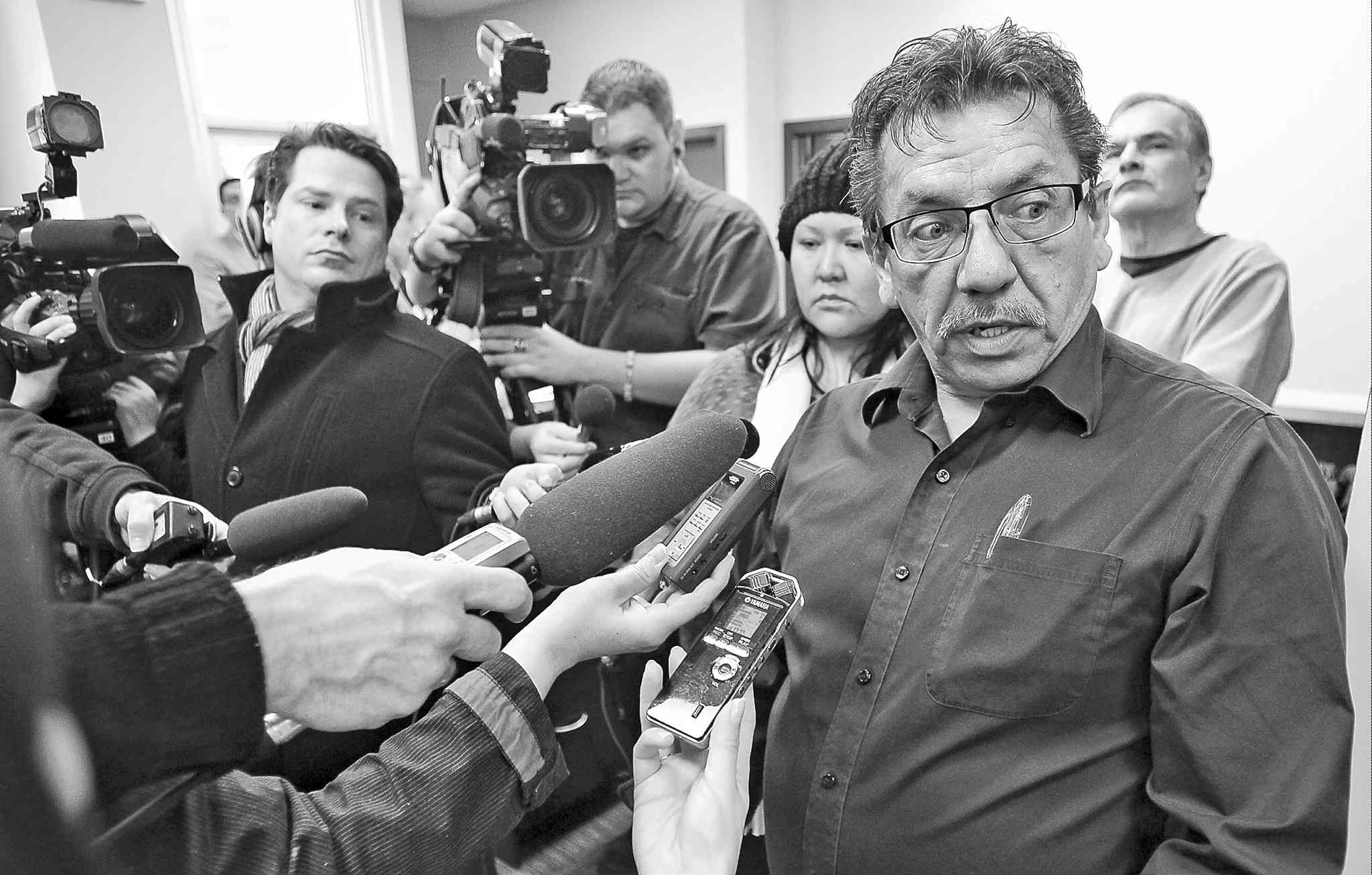 Sandy Bay First Nation Chief Russell Beaulieu admits the band has missed teachers' pay periods in the past.