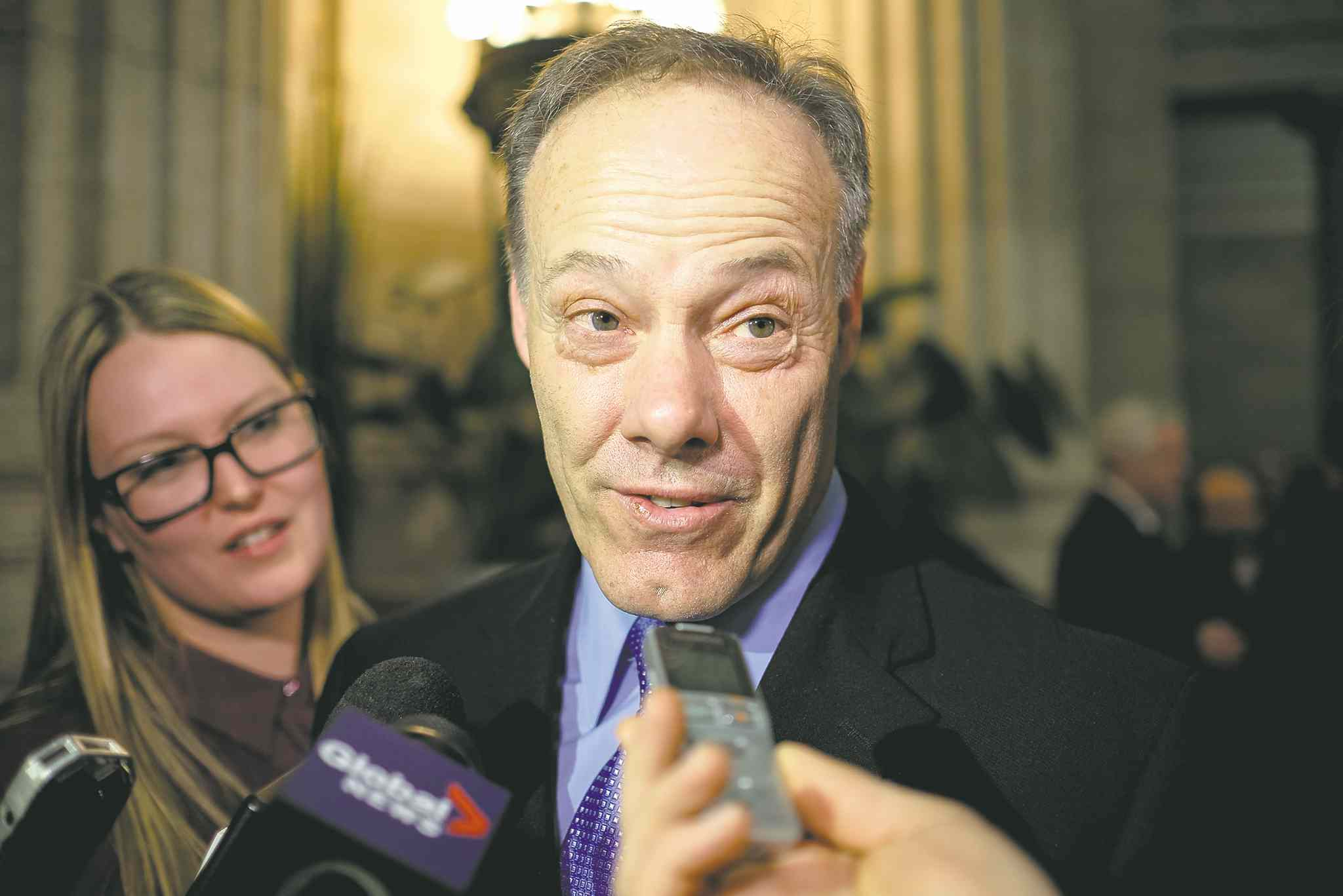 MIKE DEAL / WINNIPEG FREE PRESS Rob Despins, a manager at Standard Aero, will chair the province's 'lean council'.