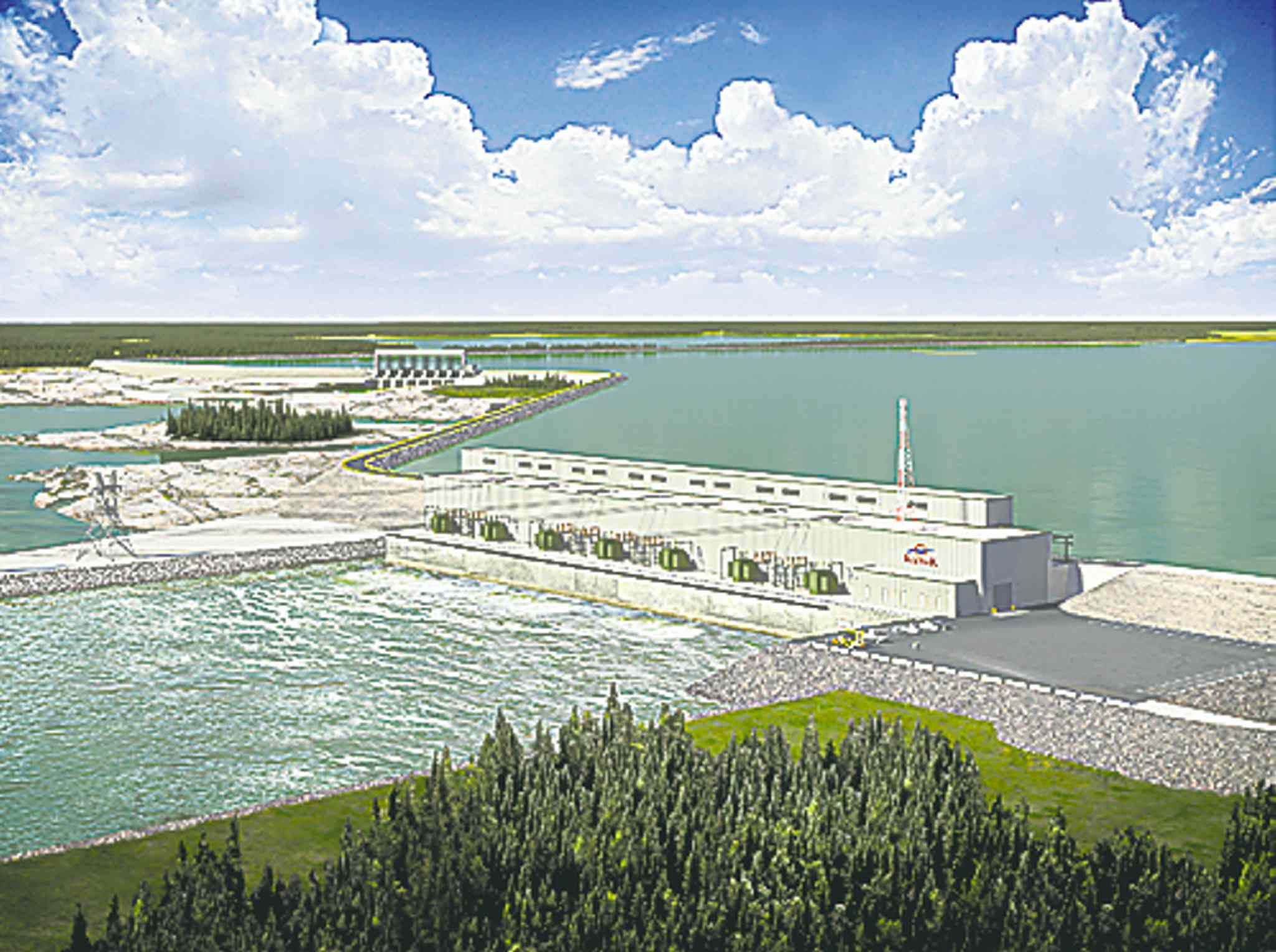 The proposed Keeyask project.