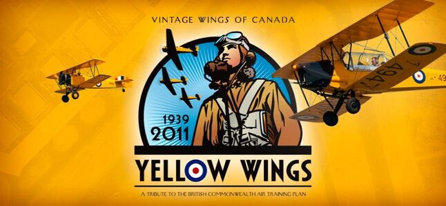Throughout the summer, volunteer pilots from Vintage Wings of Canada's Yellow Wings Program will visit dozens of communities across Canada to pay tribute to a little-known moment in Canada's history: the World War II British Commonwealth Air Training Plan. The Boeing Stearman will be at the Brandon airport on May 28th and 29th.