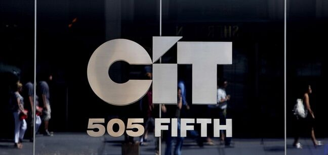 A building bearing the sign of the CIT Group is seen in New York, on July 20, 2009. THE CANADIAN PRESS/AP, Seth Wenig