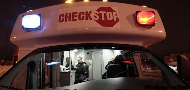 Police will be running checkstops all month.