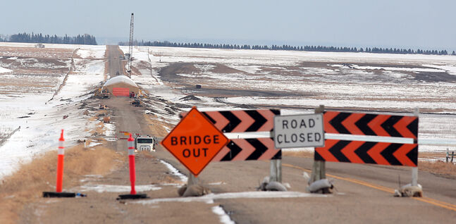 Construction on the Coulter Bridge is coming to an end with access along Highway 251 expected to open on March 23.
