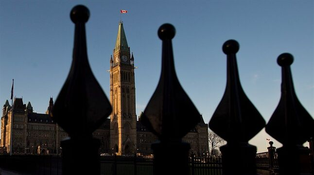 Parliament Hill in Ottawa is pictured on October 29, 2013. THE CANADIAN PRESS/Sean Kilpatrick