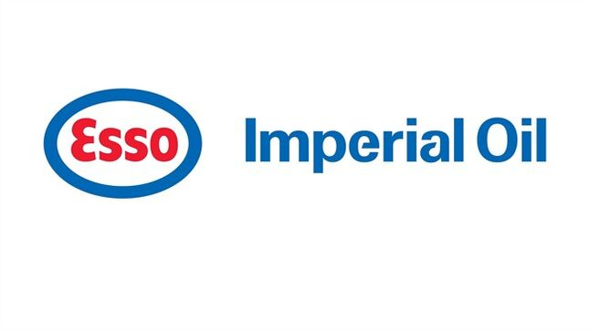 The corporate logo of Imperial Oil Ltd. (TSX:IMO) is shown. THE CANADIAN PRESS/HO