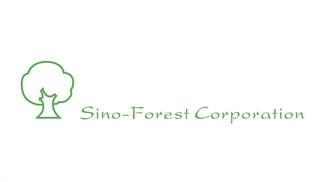 The logo for Sino-Forest Corp. is shown. THE CANADIAN PRESS/HO