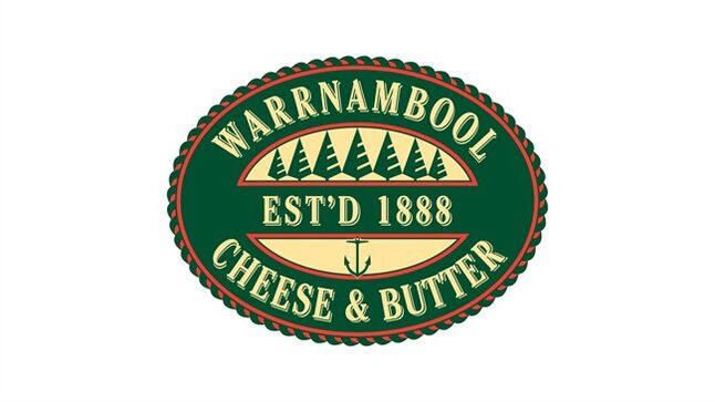 The logo for the Warrnambool Cheese and Butter Factory Company is shown. THE CANADIAN PRESS/HO