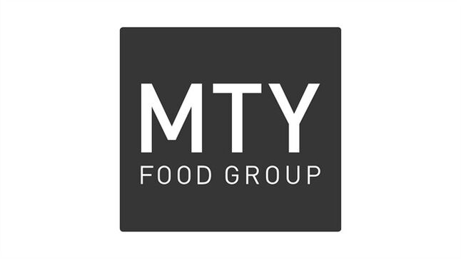 The logo of MTY Food Group Inc. is shown. THE CANADIAN PRESS/HO