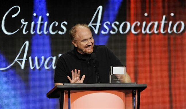 FILE - Louis C.K. picks up the award for Individual Achievement in Comedy for his television series