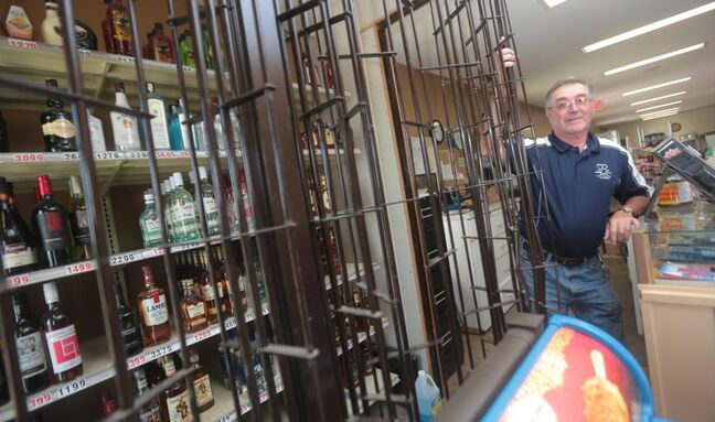 Miniota convenience store owner Delbert Cole has has enough and will be selling his business following a rash of break and entries.