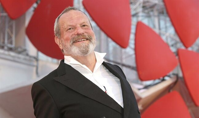 Director Terry Gilliam arrives for the screening of 'The Zero Theorem' at the Venice Film Festival on Sept. 2, 2013. THE CANADIAN PRESS/AP, Andrew Medichini
