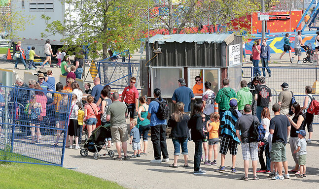 Visitors stream in to the Manitoba Summer Fair in July, helping to boost the local economic impact of both the Keystone Centre and Provincial Exhibition of Manitoba.