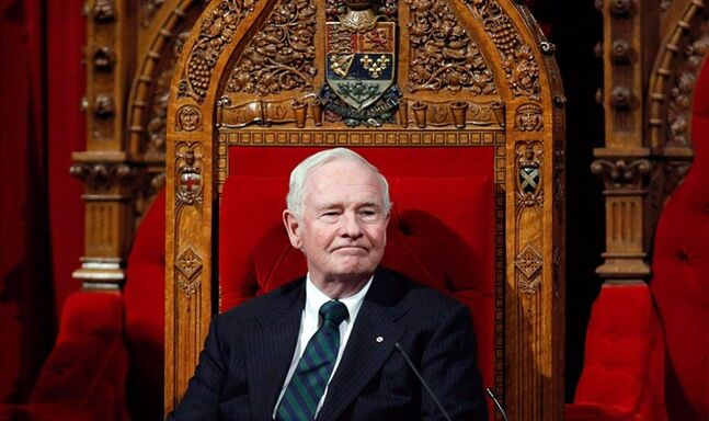 Governor General David Johnston December 12, 2013, in Ottawa. THE CANADIAN PRESS/ Patrick Doyle
