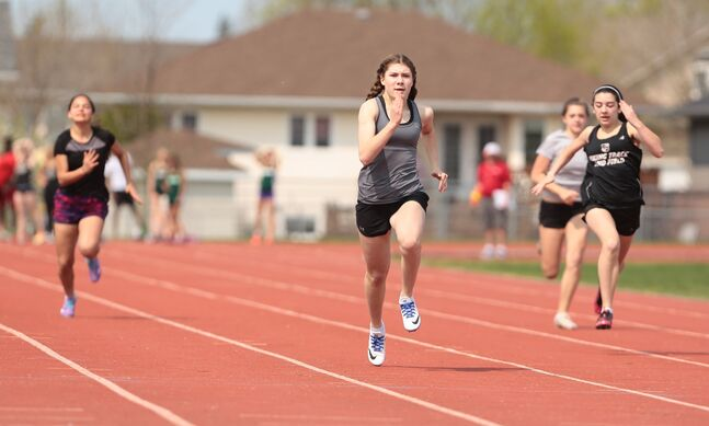 Brandonite Daniele Dyck will compete in the 60-metre sprint at the Simplot Games this week in Idaho.