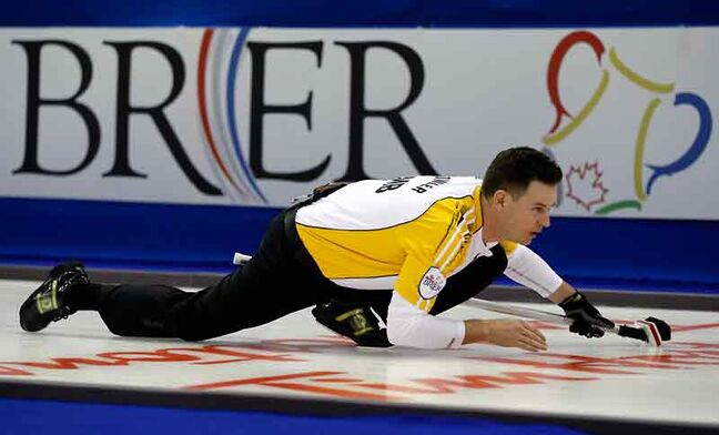 Brandon's Rob Fowler skipped his team of Allan Lyburn, Richard Daneault and Derek Samagalski to a bronze medal at the 2012 Brier.