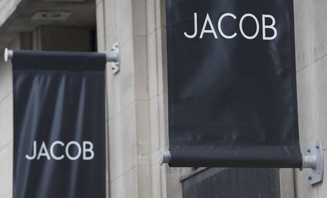 A Jacob clothing store is shown in Montreal, Tuesday, May 6, 2014. Women's clothing retailer Jacob Inc. has filed for bankruptcy and will be liquidating inventory at all 92 of its stores across Canada in the coming weeks. THE CANADIAN PRESS/Graham Hughes