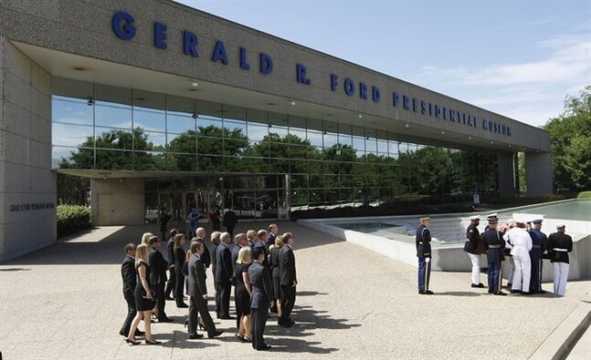 The Gerald R. Ford Presidential Museum is pictured July 14, 2011, in Grand Rapids, Mich. THE CANADIAN PRESS/AP, M. Spencer Green