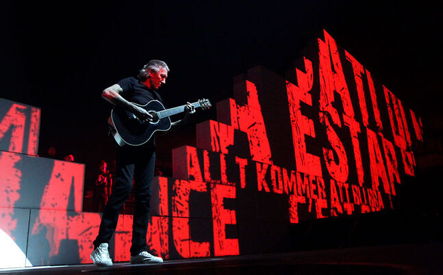 "Roger Waters performs ""The Wall"" at a sold-out MTS Centre in Winnipeg on Thursday evening. Waters performs a second MTS Centre show tonight."