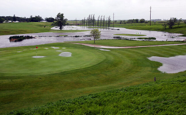After being drenched by a storm on the July long weekend, the Virden Wellview Golf Course rebounded well, re-opening within three weeks with fairly little damage.