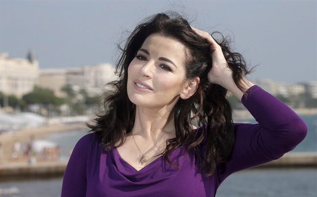 In this Oct. 9, 2012 photo, Nigella Lawson poses in Cannes, France. THE CANADIAN PRESS/AP, Lionel Cironneau