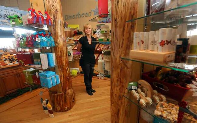 Melinda Tannahill, owner of Riverbend Soap Company on 13th Street, is gearing up   for the business' annual Ladies Night on Dec. 5.