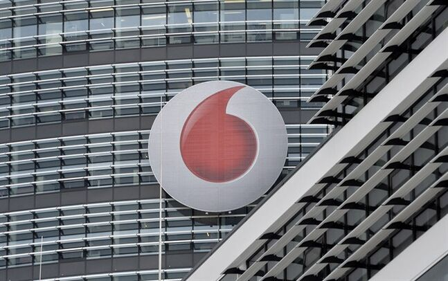 The German headquarters of mobile-phone carrier Vodafone is pictured in Duesseldorf, Sept. 12, 2013. THE CANADIAN PRESS/AP, Martin Meissner