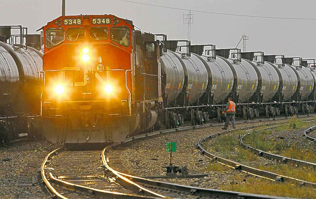 About 78,000 older DOT-111 tank cars are used to transport flammable liquids.