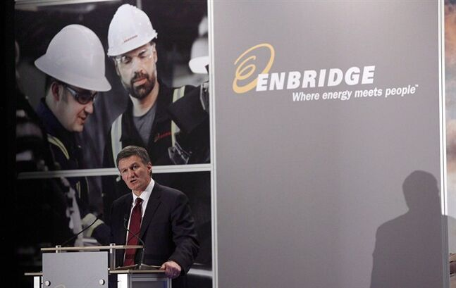 Enbridge CEO Al Monaco in Calgary, May 8, 2013.THE CANADIAN PRESS/Jeff McIntosh