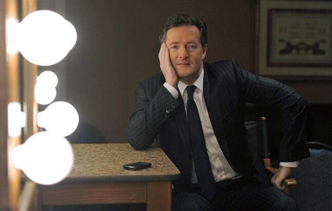 This Jan. 6, 2011 file photo shows Piers Morgan, in Pasadena, Calif. THE CANADIAN PRESS/AP, Chris Pizzello