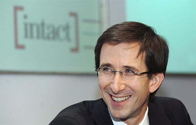 Intact Financial Corp. CEO Charles Brindamour is pictured in Montreal, May 2, 2012. THE CANADIAN PRESS/HO