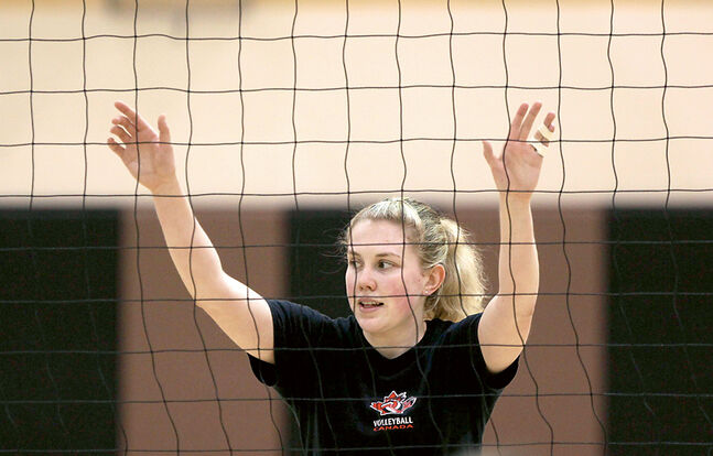 Brandonite Lisa Barclay is back with the Canadian women's volleyball team for the Pan American Cup in Mexico.