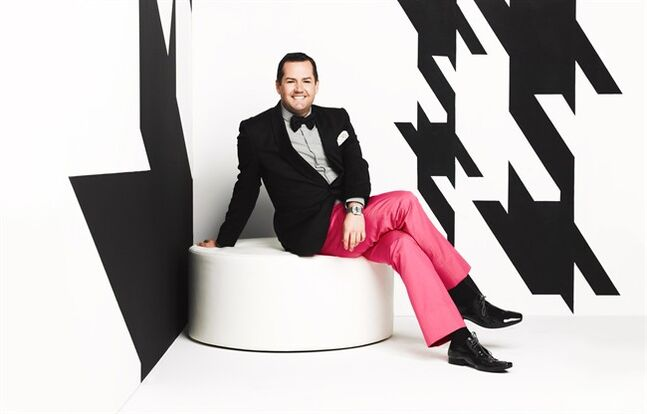 Ross Mathews is shown in a handout photo. The bubbly American TV personality says he feels a kinship with Canada and fondly recalls taking trips to B.C. when he was growing up. THE CANADIAN PRESS/HO-Timothy White
