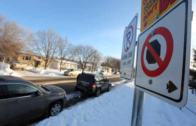 No-stopping and loading zone areas around schools, like Meadows School seen in this image, are not being respected by all parents dropping off and picking up their children, says the chair of the Brandon School Division. It is creating a safety concern, Mark Sefton says.