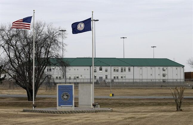 The Federal Correctional Institution in Hoepwell, Va., Wednesday, Feb. 12, 2014. Seyed Amin Ghorashi Sarvestani, a wealthy Iranian entrepreneur, who is imprisoned at the facility in Hopewell, is challenging a 30-month prison sentence for conspiring to illegally export satellite equipment to Iran. He pleaded guilty in New York last May, but the federal government issued a new license that his lawyers say approved for export the products he was convicted of helping ship. Federal prosecutors said after sentencing that they had mistakenly exaggerated the technology's capabilities. (AP Photo/Steve Helber)