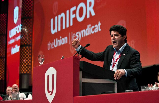 Unifor president Jerry Dias (seen here) says that the unionization of junior hockey is a long time coming.