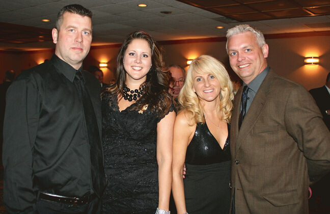 (L-R) Todd Merckx, Heather Merckx, Marnie Cline and Ryan Heinrichs.