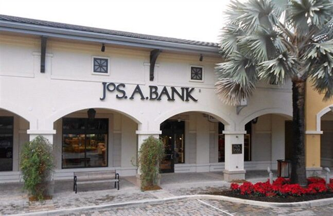 This undated photo provided by JoS. A. Bank, shows a JoS. A. Bank store at the Shops at Midtown Miami in Miami, Fla. THE CANADIAN PRESS/AP, JoS. A. Bank