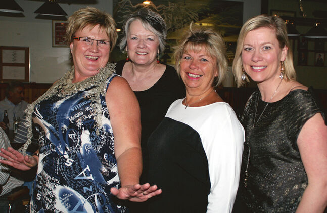 Margret Neilson, Wilma Pawluk, Diane Hainsworth and Angela Hainsworth-Brosseau.