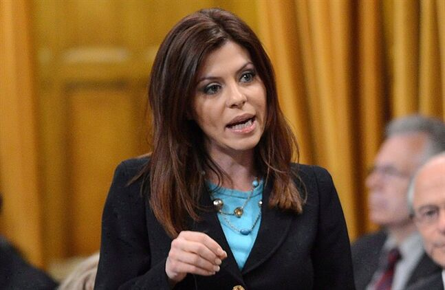 Conservative MP Eve Adams speaks in the House of Commons on June 11, 2013. THE CANADIAN PRESS/Sean Kilpatrick