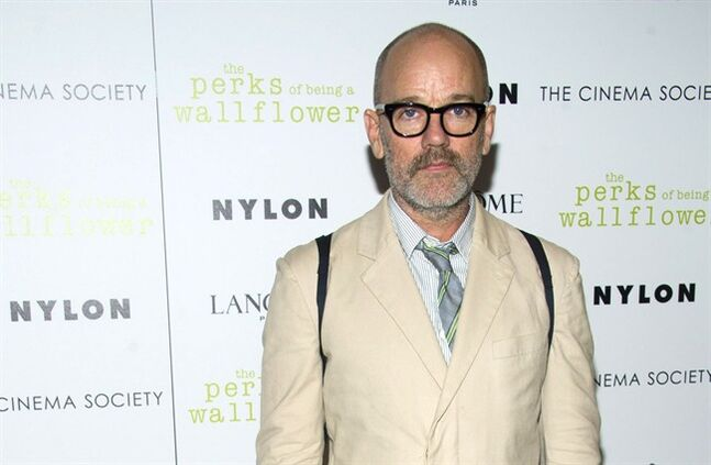 FILE - In this Sept. 13, 2012 file photo, Michael Stipe attends