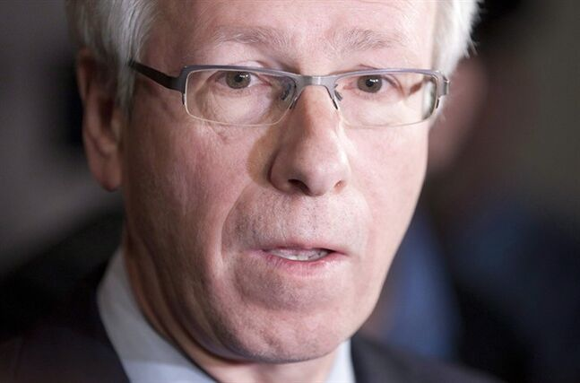 Stephane Dion in Ottawa, December 13, 2011. THE CANADIAN PRESS/Adrian Wyld