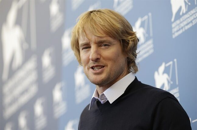 Actor Owen Wilson poses during the photo call for the movie She's Funny That Way at the 71st edition of the Venice Film Festival in Venice, Italy, Friday, Aug. 29, 2014. (AP Photo/Andrew Medichini)