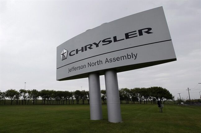 The Chrysler Jefferson North assembly plant is shown in Detroit, on Sept. 20, 2012. THE CANADIAN PRESS/AP, Paul Sancya