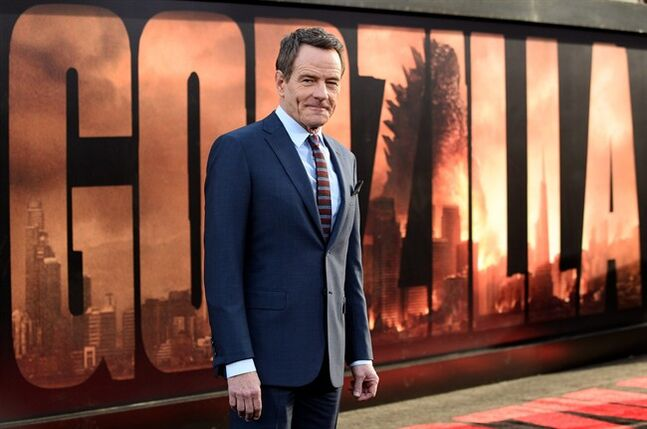 FILE - This May 8, 2014, file photo shows Bryan Cranston at the premiere of