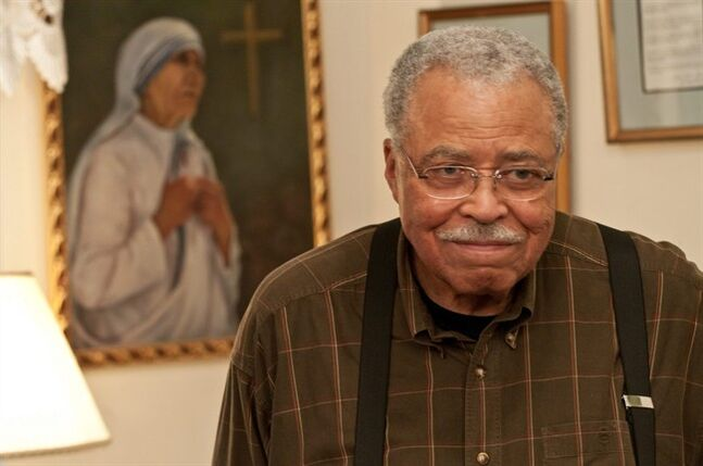 This image released by Roadside Attractions shows James Earl Jones in a scene from