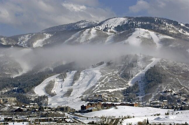 In this undated photo shows Intrawest Corp.'s Steamboat Ski & Resort in Colo. THE CANADIAN PRESS/HO, Larry Pierce