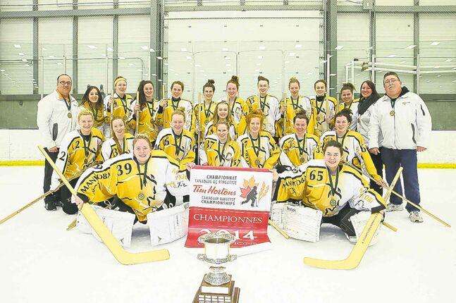 The Winnipeg Magic, playing as Team Manitoba at the AA Under-19 national ringette championship, brought home the gold after downing the Edmonton Elite 5-4 in overtime in the tournament final.